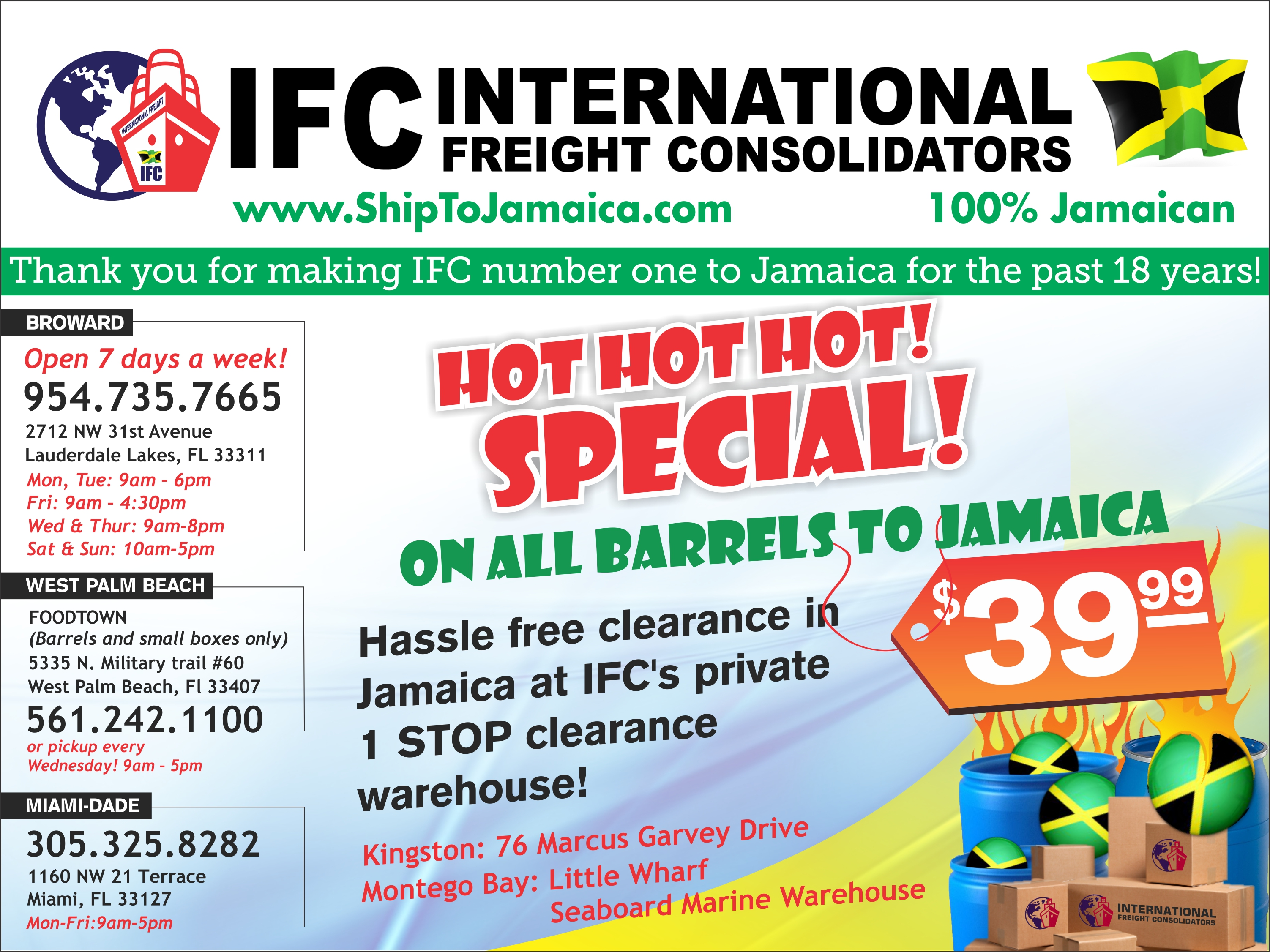 Home Page - International Freight Consolidators